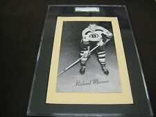 RARE 1945-64 BEEHIVE GROUP 2 BOSTON BRUINS RICHARD MEISSNER SGC GRADED
