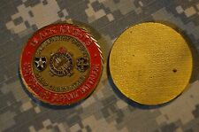 Challenge Coin US Army B Co 302d Forward Support Bn Black Knights 2ID VINTAGE