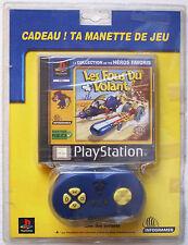 LES FOUS DU VOLANT + Manette de jeu sur Sony PLAYSTATION 1 PS1 The Wacky Races