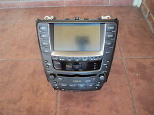 2005-2008 LEXUS IS250 GENUINE DVD/GPS VOICE NAVIGATION CLIMATE CONTROL AU MAPS