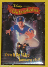 Walt Disney A Kid In King Arthur's Court On Video January 31 Pinback Button See!
