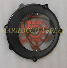 Ducati Window Clutch Cover Monster 900 1000 1100 S4 S2R S4R Corse Performance