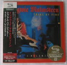 YNGWIE MALMSTEEN - Trial By Fire JAPAN SHM MINI LP CD OBI NEU! UICY-93551
