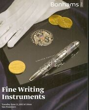 Bonhams / Fine Writing Fountain Pens Montblanc Auction Catalog June 2013
