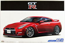 Aoshima 51542 The Model Car 03 NISSAN R35 GT-R Pure Edition '14 1/24 scale kit