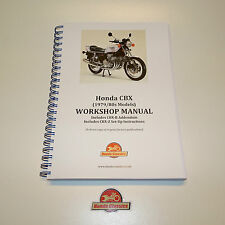 Honda CBX 1000 Factory Workshop Shop Manual Book. Reproduction. HWM049