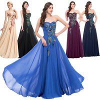Plus Size 20 22 24 26 Formal Chiffon Long Evening Gown Party Cocktail Prom Dress
