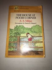 Dell Yearling Book The House At Pooh Corner A.A. Milne 1971