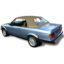 BMW E30 Convertible Soft Top & Plastic Window 3 series 1986-1993 Tan Stayfast