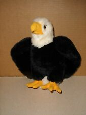 A&A PLUSH Standing BALD EAGLE  Stuffed Animal Toy Bird 10''