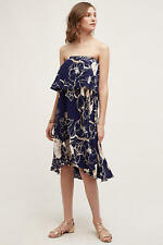 NWT $198.00 Anthropologie Tiered Enna Dress by Plenty By Tracy Reese Sz. Medium