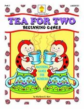 Tea for Two : Matching Games for Numbers by Marilynn G. Barr (2013, Paperback)
