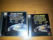 STAR WARS REBEL ASSAULT II SONY PLAYSTATION VIDEOGAMES PS JAP JAPANESE PSX PS1