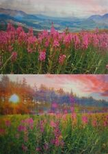 Fireweed - Flowers - 3D Postcard Lenticular Greeting Card
