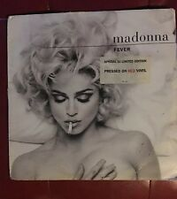 Madonna -  Fever 12 Inch Red Vinyl 2 Lp's Special DJ Edition Very RARE REMIXES