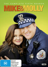Mike and Molly: Season 5  - DVD - NEW Region 4