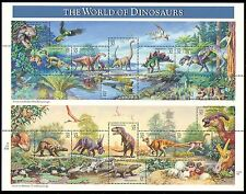 USA 1997 Dinosaurs/Prehistoric Animals/Reptiles/Nature/Wildlife 15v sht (s4565)