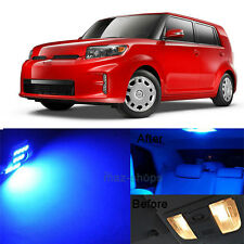 8Pcs Blue LED Interior Lights Lamp Package Kit For 2008 - 2015 Scion xB xD MP