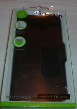 HTC Cartera de Cuero PU de folio One Belkin, soporte y titular de la tarjeta (clase P + P) 1st