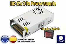 PS Power Supply DC 12v 33a 3d printer reprap fuente alimentación prusa p3steel