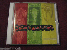 3 Ways Of Armageddon CD Irritate Social Chaos Olho De Gato grind