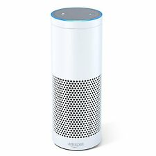 Amazon Echo Wireless Speaker - Boxed And Factory Sealed - UK Adapter - White