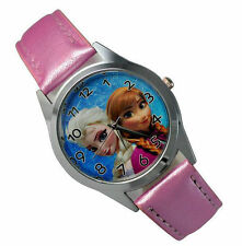 Disney Frozen Princess Wrist Quartz Fashion Child Girl Watch Xmas YBX02