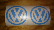 dub VW volkswagen logo car campervan golf beetle adhesive sticker decal 2x65m