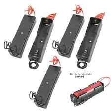 5pcs Battery Holder Storage Plastic Box Case for 1x 18650 Rechargeable Battery