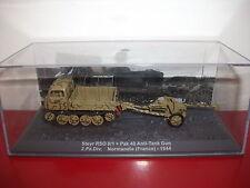 (24.5.15.3) Steyr RSO 0/1 + Pak 40 Anti tank gun 2.Pz.Div normandie Tank 1/72