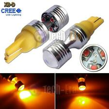 2x Amber Yellow High Power 30W T10 T15 6-CREE XB-D LED Lights bulbs 912 921 168