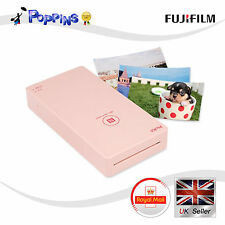 New Fujifilm PicKit Mobile Smart Phone Photo Printer White for iOS Android Pink