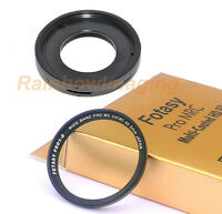 JJC Filter Adapter & 40.5mm MRC Filter OLYMPUS Tough TG-3 TG-4 Camera as CLA-T01