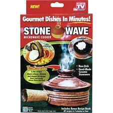 NEW Stone Wave Microwave Cooker As Seen On TV Priority Mail Free Shipping