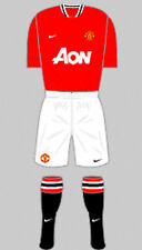 Homme football shirt et chaussettes kit-manchester united-home 2011-12 - nike-s