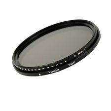 77mm Variabler Graufilter Vario ND Fader Filter  ND2 - ND400