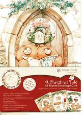 Forever friends A christmas tale A5 diecut decoupage card kit Acid & lignin free