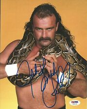 Jake The Snake Roberts WWE Signed 8x10 Photo PSA/DNA COA Picture Autograph WCW