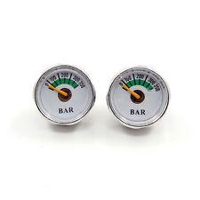 A Lots of 2  Paintball Micro Mini 350bar Air Pressure Gauge 1/8NPT Threads