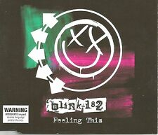 BLINK 182 Feeling this UNRELEASE & 2 RARE LIVE TRX CD single USA seller SEALED