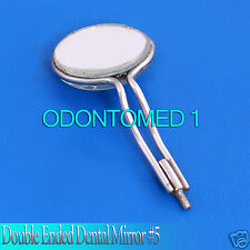 Double Sided Front Surface Mirrors. No.5 Surgical Dental Instruments