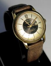 Super Tic Tac Automatic Duromat 25 Jewels Rubies Swiss Gold Plated Watch WORKING