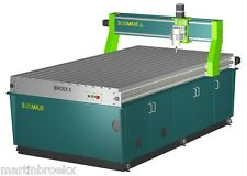 Broekx 3 Axis CNC Router Table 2400x1200 Milling, Drilling machine diy plans