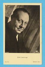 GERMAN  ACTOR  -  ROSS  VERLAG  SCARCE  POSTCARD  -  EMIL  JANNINGS  B -  1930's
