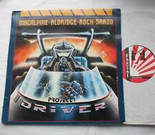 MACALPINE ALDRIDGE ROCK SARZO Project Driver NM- CANADA BANZAI 1987 METAL LP
