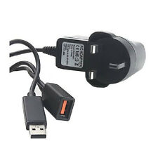UK Power Supply Adapter Cable for Microsoft Xbox 360 Kinect Sensor