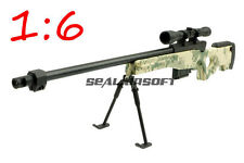 Toy 1:6 Scale Figure Metal Model L96 ACU Sniper Rifle For Display AF-MC0012