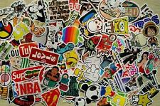 100 pieces unique Skateboard Stickers Graffiti Laptop Sticker Luggage Car motor