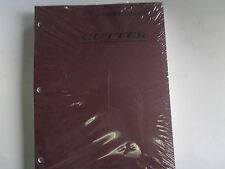 Brand New 1998 Airstream Cutter 30/34 GAS Motorhome Owner's Manual
