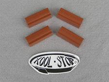 4 Mathauser KOOL STOP Brake Shoe Pads Campagnolo, Universal Weinmann Etc. SALMON